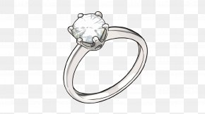 Vector Diamond Ring - Ring Diamond Marriage Proposal PNG