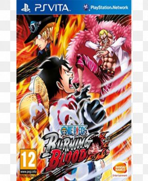 One Piece: Burning Blood PlayStation 4 One Piece: Pirate Warriors 3 PlayStation Vita PNG