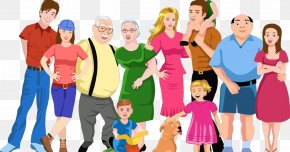 Team Sharing - People Social Group Community Fun Cartoon PNG
