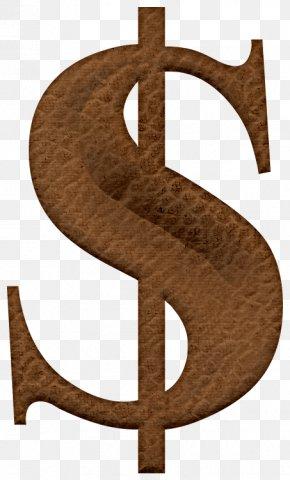Wooden Serifs Dollar Sign - Wood Serif PNG