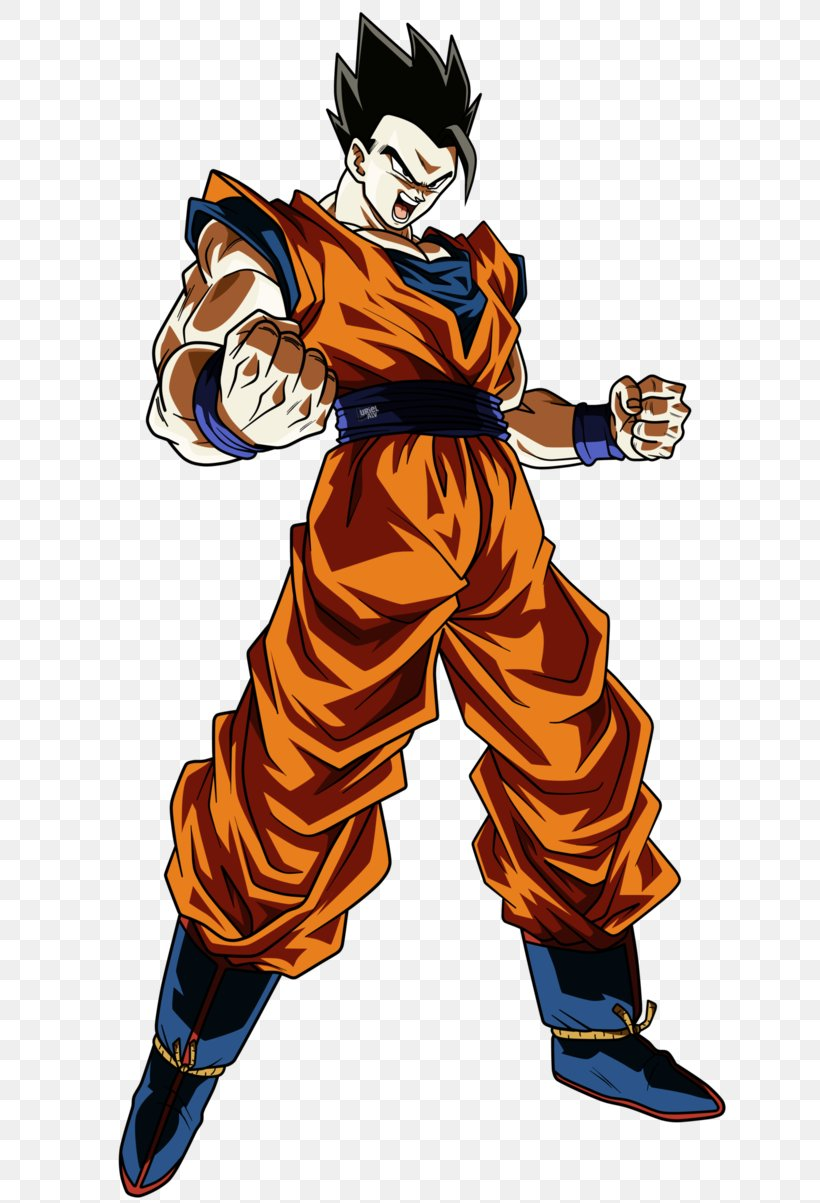 Gohan Goku Cell Super Saiya DeviantArt, PNG, 664x1203px, Gohan, Art, Cartoon, Cell, Costume Download Free