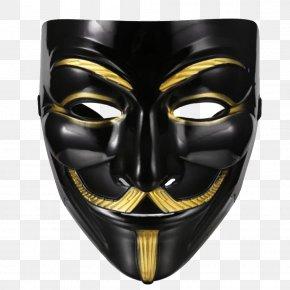 Masquerade - V Guy Fawkes Mask Masquerade Ball Anonymous PNG