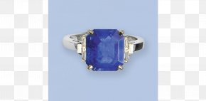 Sapphire - Jewellery Sapphire Ring Gemstone Diamond Cut PNG