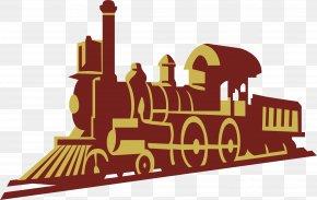 Retro Steam Train - Train Steam Locomotive Steam Engine PNG