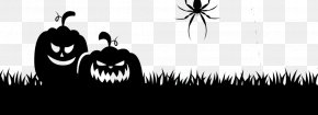 Halloween Clip Art Silhouette - Silhouette Clip Art Halloween Image PNG
