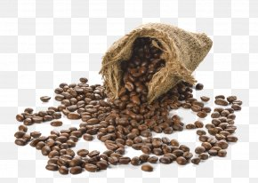 Bag Of Coffee Beans - Coffee Bean Bag PNG