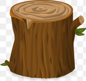 Tree Stump - Tree Stump Trunk Clip Art PNG