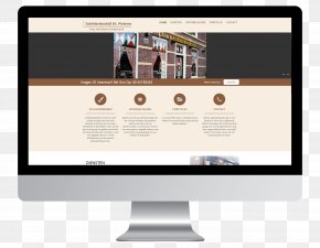 Design - Business Responsive Web Design Page Layout PNG