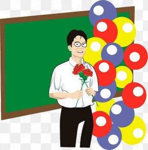 Cartoon Room Teacher - School Teacher Drawing PNG