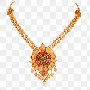 Necklace - Earring Lalithaa Jewellery Necklace Jewelry Design PNG