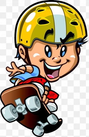 Leap Skateboard Cartoon - Skateboarding Cartoon Clip Art PNG