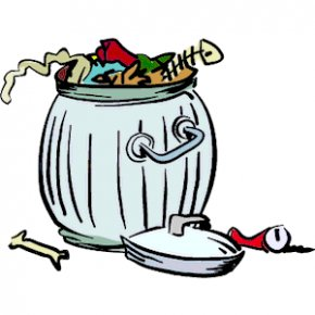 Trash Container Cliparts - Waste Container Clip Art PNG