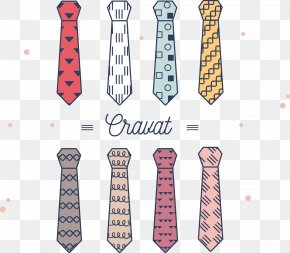 Vector Tie - Necktie Formal Wear Cravat Bow Tie PNG