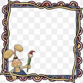 Easter - Picture Frames Easter Egg Clip Art PNG