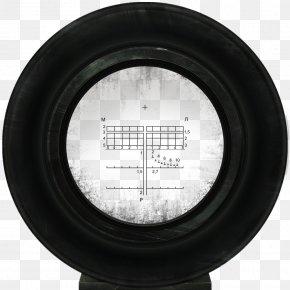 Crosshair - Car Tire Wheel PNG