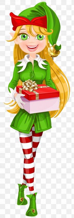 Christmas Elf Transparent Clip Art Image - The Elf On The Shelf Santa Claus Christmas Elf Clip Art PNG