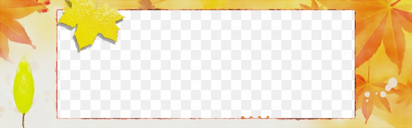 Yellow Text Line Rectangle Paper Product, PNG, 2000x626px, Watercolor, Paint, Paper Product, Rectangle, Text Download Free