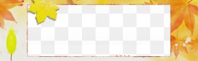 Paper Product Rectangle - Yellow Text Line Rectangle Paper Product PNG