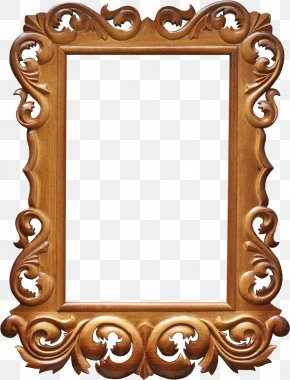 Vintage Frame - Picture Frames Stock Photography PNG