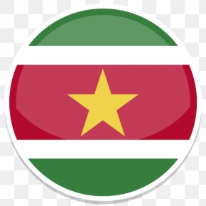 Round World Flags - Flag Of Suriname National Flag Flags Of South America Flags Of The World PNG