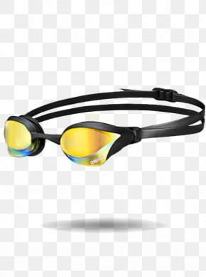 Swimming - Arena Cobra Core Swimming Goggles Arena Tracks Mirror PNG