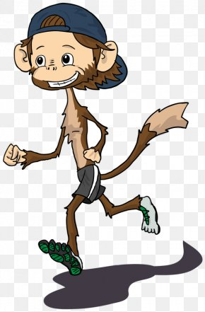Monkey - Cartoon Monkey Clip Art PNG