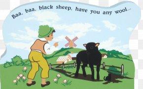 Empty Shelf - Mother Goose Baa, Baa, Black Sheep Nursery Rhyme Children's Song PNG
