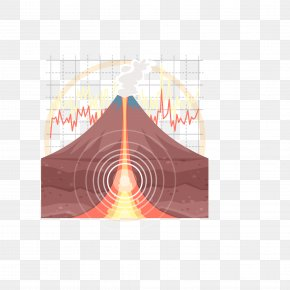 Vector Volcano Eruption Material - Volcano Geology Euclidean Vector PNG