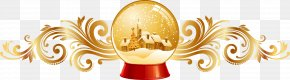 Christmas Crystal Ball Element - Christmas Visual Design Elements And Principles Clip Art PNG