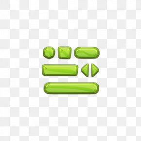 Green 3D Button Background Pattern - Button Game User Interface Royalty-free PNG