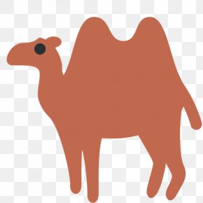 Bactrian Camel - Dromedary Emoji Bactrian Camel Sticker Text Messaging PNG