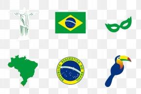 Brazil Map Flag Emblem Creative - 2016 Summer Olympics Opening Ceremony Rio De Janeiro Flag Of Brazil PNG