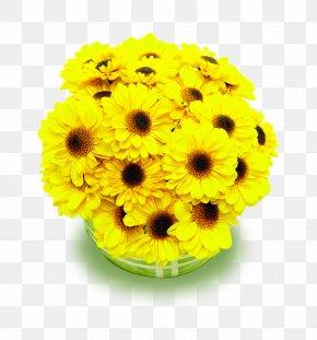 Yellow Chrysanthemum Bouquet - Tabrik Eid Al-Fitr Holiday Eid Prayers Ramadan PNG