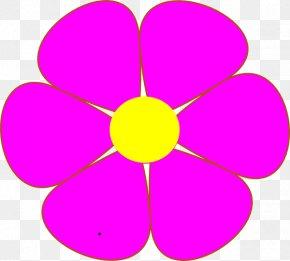 Flower Clip Art - The Blue Flower Clip Art PNG