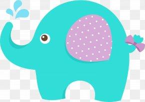 Baby Shower - Baby Shower Elephant Infant Clip Art PNG