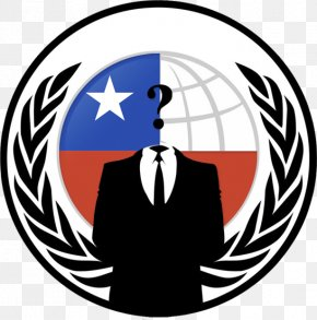 Anonymous - Anonymous Chile Hacker Anonops Anonymity PNG