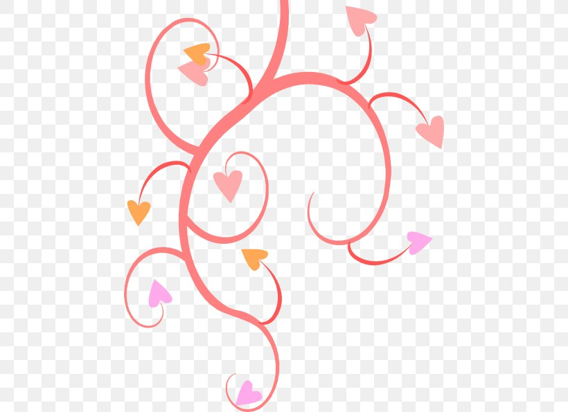Flower Heart Clip Art, PNG, 462x595px, Flower, Area, Art, Color, Free Content Download Free