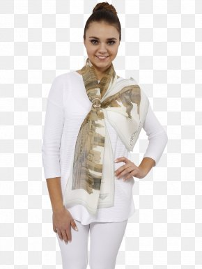 Silk Scarf - Outerwear Neck Scarf Stole Sleeve PNG