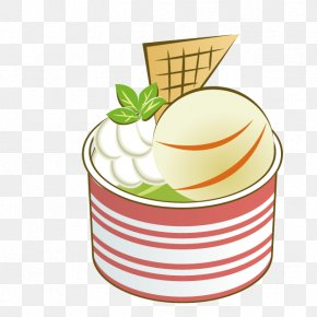 Ice Cream - Vanilla Ice Cream Clip Art PNG
