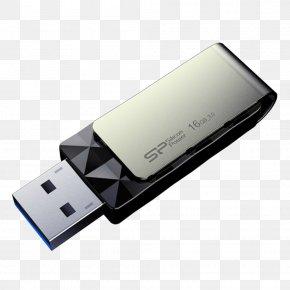Usb Flash Disk - Diamond-cutting USB Flash Drive Blaze B30 USB Flash Drives Silicon Power USB 3.0 PNG
