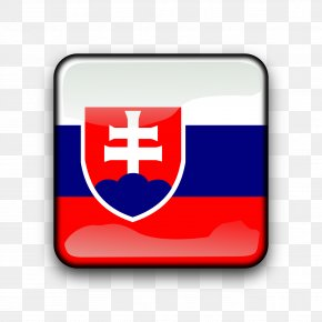 Flag - Flag Of Slovakia National Flag Flag Of The United States PNG