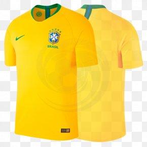 Brazil Jersey - 2018 World Cup 2014 FIFA World Cup Brazil National Football Team T-shirt PNG