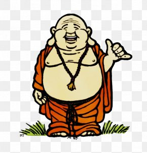 Artwork Fictional Character - Buddha Cartoon PNG