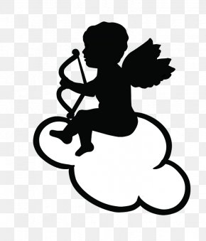 Baby Angel Silhouette - Clip Art Free Content Vector Graphics Cupid Image PNG