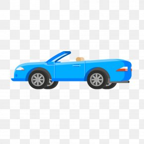 Blue Convertible Luxury Sports Car - Sports Car Luxury Vehicle Convertible PNG