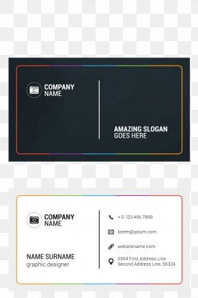 Business Card - Business Card Visiting Card Creativity PNG