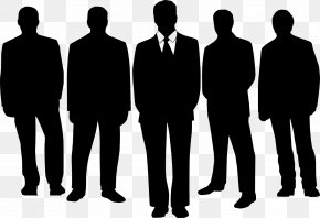 Business People Silhouettes - Chief Executive Senior Management Business Executive Clip Art PNG