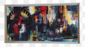 Modern Art - Painting Modern Art Acrylic Paint Picture Frames PNG