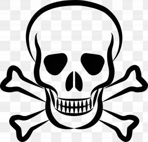 Pirate - Skull And Crossbones Skull And Bones Clip Art PNG