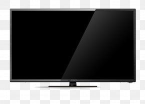 Television - Display Device Television Set Computer Monitors Flat Panel Display PNG